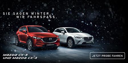 Mazda CX-5 und Mazda CX-3 Probe fahren